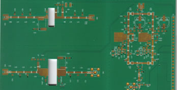 RF design circuit board