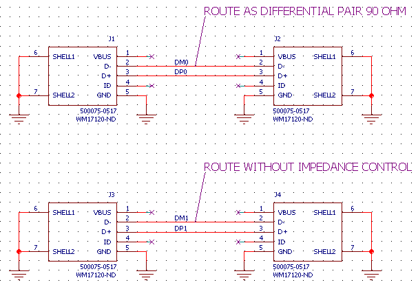 Simple Trace Schematic