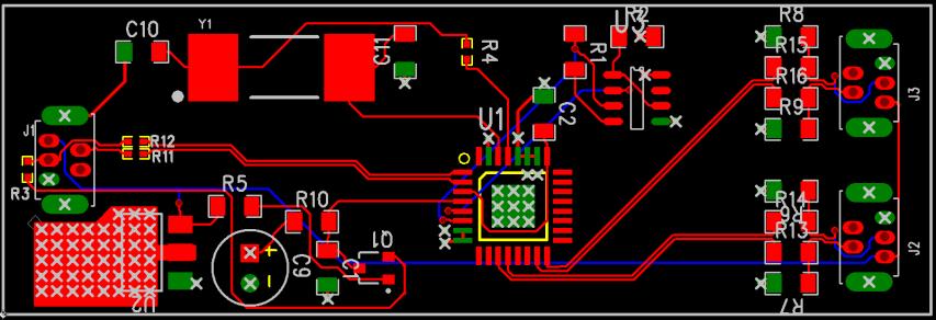 Corrected sample USB 2.0 Hub Board