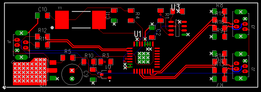 Sample USB 2.0 Hub Board